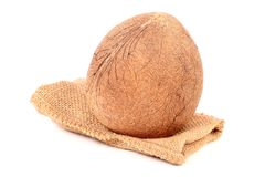 Dry coconut Royalty Free Stock Photos