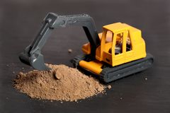 Earth digger Stock Image