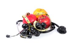 Healthy fruits Royalty Free Stock Photography