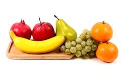 Fresh ripe fruits Stock Photos