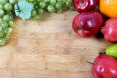 Fruit frame Royalty Free Stock Image