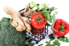 Vegetable shopping Royalty Free Stock Photos