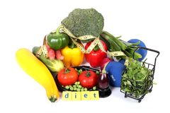 Vegan diet Royalty Free Stock Images