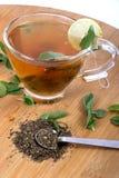 Green herbal tea Royalty Free Stock Photo
