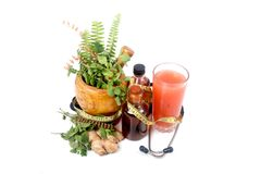 Herbal medication Royalty Free Stock Photography