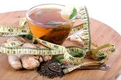 Herbal tea. Beautiful shot of herbal tea on wooden board Stock Image