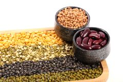 Indian lentils Royalty Free Stock Images
