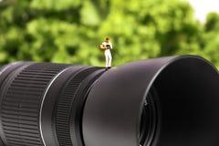 Macro photographer Stock Photography