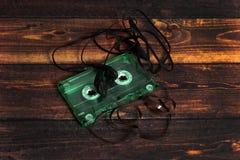 Music cassette stock photography
