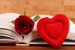 Reading love stock images