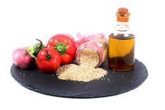 Healthy quinoa Royalty Free Stock Images