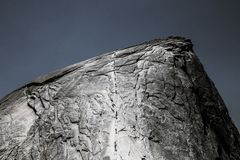 Beautiful shot of rock with cool texture stock image