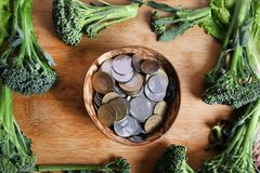 Vegetable savings Stock Photos