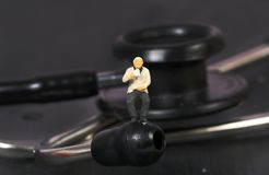 Resting doctor Stock Photography