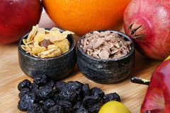 Healthy diet plan Stock Images