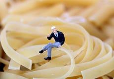 Wheat pasta Stock Photos