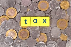 Tax Royalty Free Stock Images