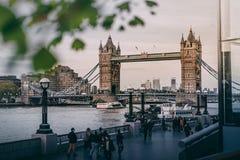 Beautiful shot of Tower Bridge in London royalty free stock image