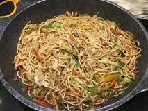 Veg noodles royalty free stock photography