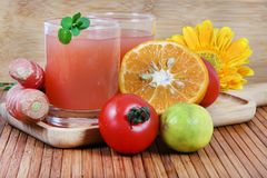Mixed juice Royalty Free Stock Photos