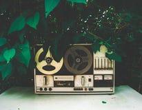 Vintage tape recorded stock photo