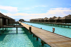 Water villas Royalty Free Stock Photos