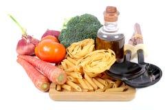 Pasta ingredients Royalty Free Stock Photo