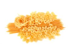 Wheat pasta Royalty Free Stock Image