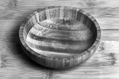 Wooden bowl Royalty Free Stock Photos