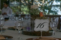 Beautiful shots of a wedding ceremony royalty free stock image