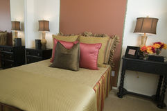 Beautiful showcase bedroom interior Royalty Free Stock Photo