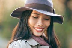Beautiful Shy Woman Stock Photography