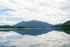 Beautiful siberian view. Mount on the Tagasuk lake. Russia royalty free stock photos