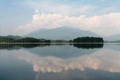 Beautiful siberian view. Tagasuk lake. Russia royalty free stock photo
