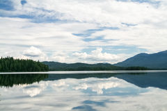 Beautiful siberian views. Tagasuk lake. Siberia Royalty Free Stock Images
