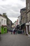 Beautiful side street scene in kilkenny Stock Photography