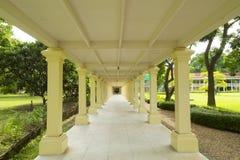 Beautiful sidewalk in Thai architecture Stock Image