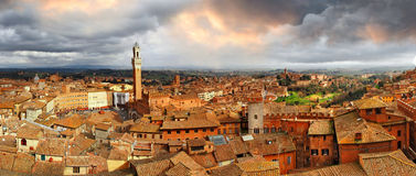 Beautiful Siena,Italy. Royalty Free Stock Photo