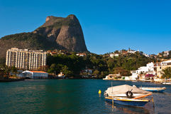 Beautiful Sight of Rio de Janeiro Natural Landscape Stock Image