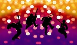 Beautiful silhouette Royalty Free Stock Photos