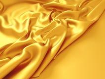 Beautiful silk drape texture background. 3d render illustration Royalty Free Stock Photos