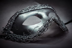Silver Fantasy Mask Royalty Free Stock Photography