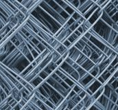 Wire-fence, reel Stock Photography
