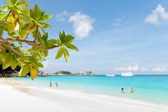 Beautiful Similan islands Royalty Free Stock Images