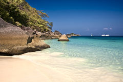 Beautiful Similan islands Royalty Free Stock Photo