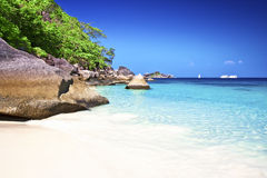 Beautiful Similan islands, Thailand Royalty Free Stock Images