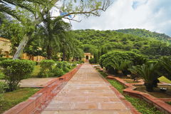 Sisodia Rani Palace Garden At Jaipur Stock Photography