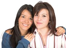 Beautiful sisters Royalty Free Stock Photos
