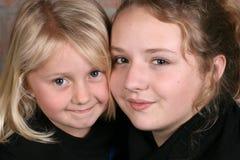 Beautiful sisters Stock Photography