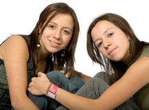 Beautiful sisters Royalty Free Stock Images